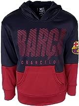 FC Barcelona Hooded FCB Sweatshirt Hoodie Pull Over Jacket Navy Youth Official Licensed New Season
