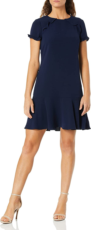 Shoshanna Women's Maricella Short Sleeve Shift Dress