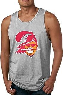 Men's Sleeveless Tank Top Shirts Black Tampa Bay Arians Logo Cotton Gym Vest Casual Sport T-Shirts