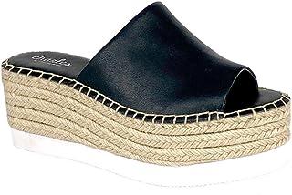 حذاء رياضي نسائي من CHARLES DAVID Charles حذاء رياضي مزود بنعل سميك أسود