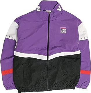 VISION トラックジャケット 切替 ビッグシルエット ナイロンジャケット ヴィジョンストリートウェア スポーツジャケット