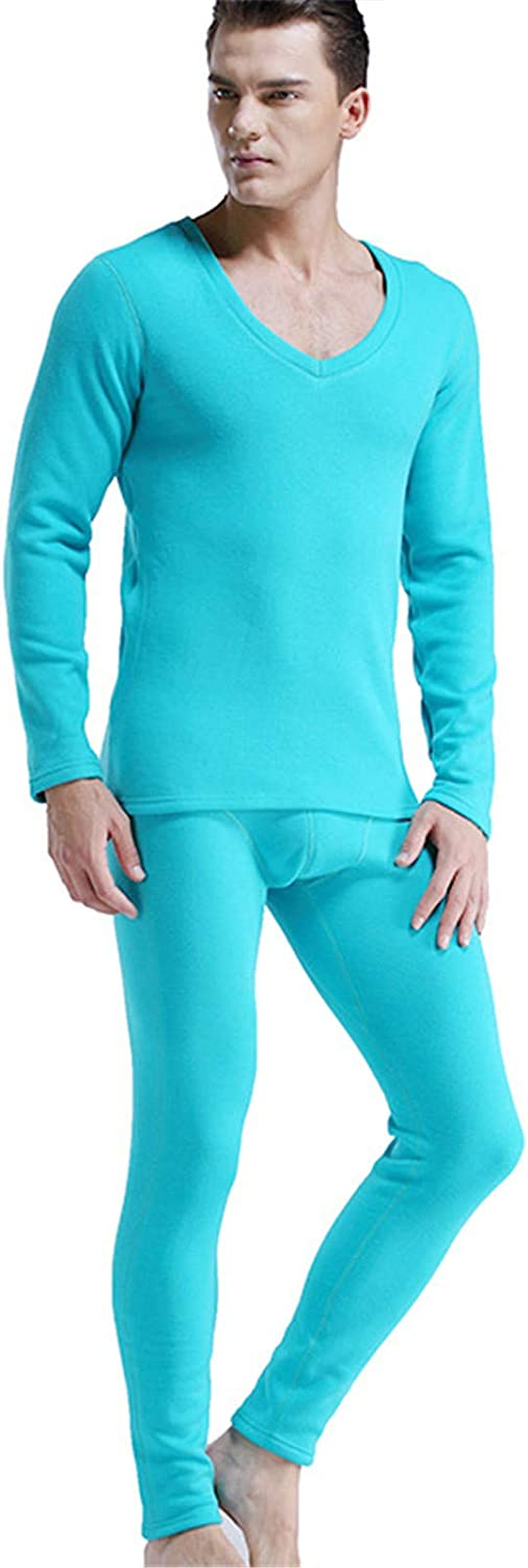 EverNight Men's Thermal Underwear Set,Winter Fleece Lined Warm Base Layer Thermals Sets for Men,1,XL