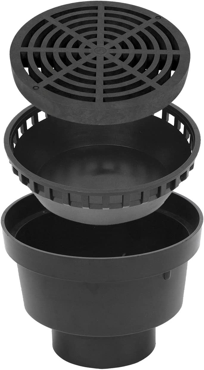 StormDrain FSD-120-KIT Challenge the lowest price of Japan 12-in. Black Catch Genuine Drain Bottom Out Basin