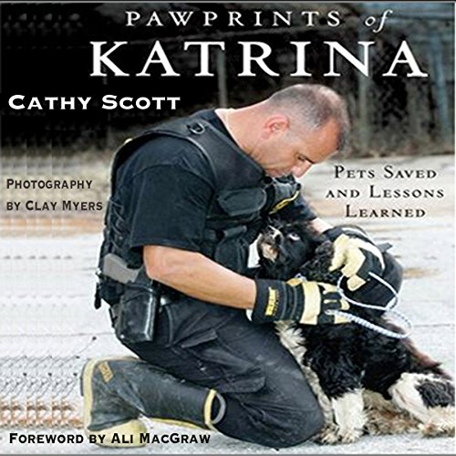 Pawprints of Katrina audiobook cover art