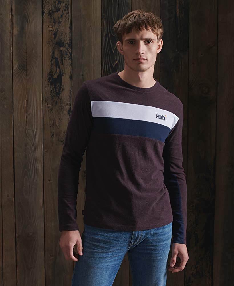 Superdry OL Engineered LS Top Camiseta para Hombre