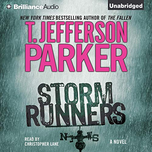 Storm Runners audiobook cover art
