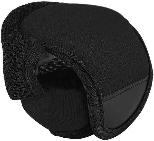 Fishing Reel Protector Bait Casting Fishing Reel Bag Waterproof Breathable Fish Wheel Protector 2 Colors Color Black
