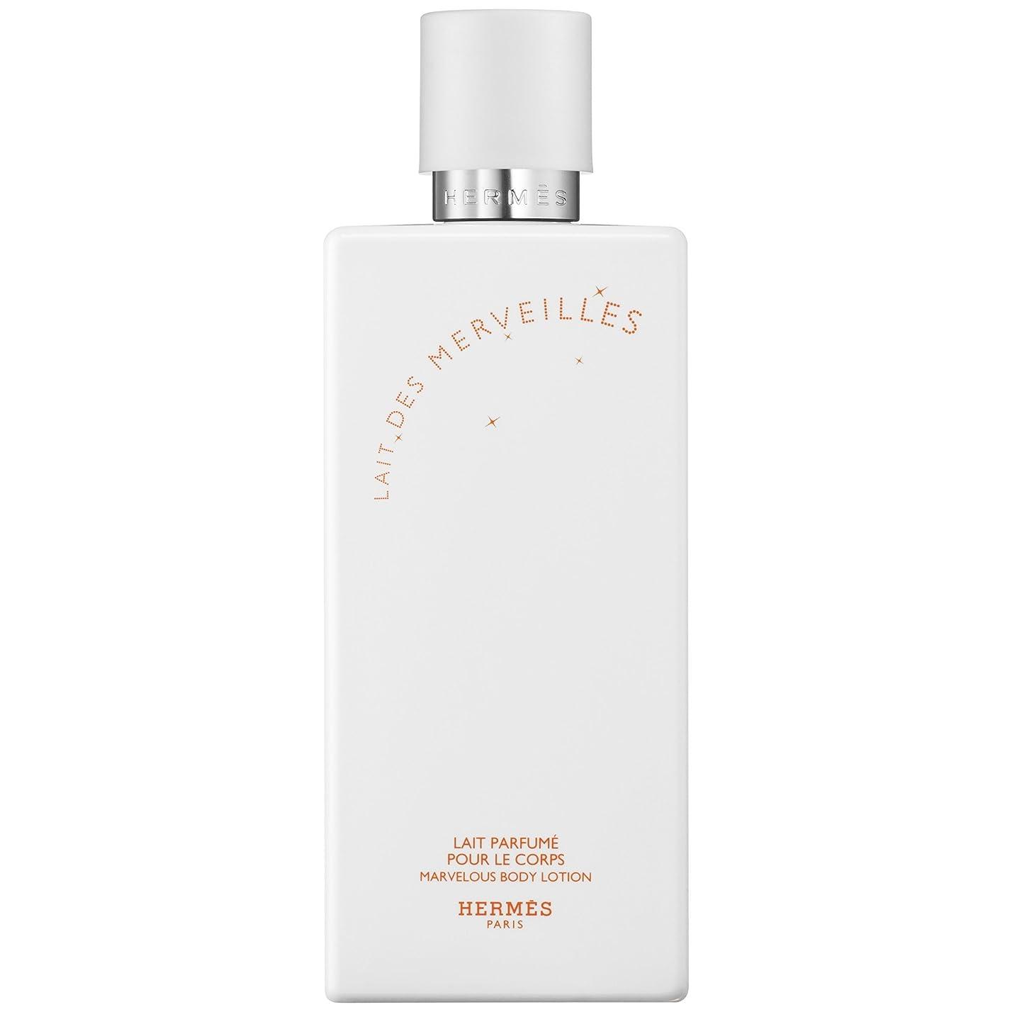 シロクマ表面病院エルメスオーデMerveilles香りのボディローション200ミリリットル (HERM?S) (x2) - HERM?S Eau Des Merveilles Perfumed Body Lotion 200ml (Pack of 2) [並行輸入品]
