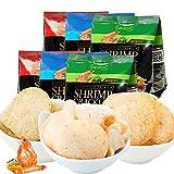 印尼进口啪啪通papatonk传统虾片40g/包 薯片膨化休闲零食品小吃