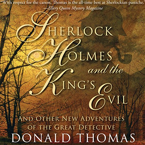 Sherlock Holmes and the King's Evil: audiobook cover art