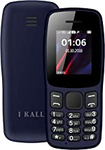 I KALL Gold Series K14 (1.8 Inch, 1000 mAh Battery, Vibration, King Voice) (Dark Blue)