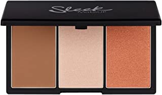 Sleek Makeup Ultra Pigmented Contouring Palette FACE FORM FAIR 372 - Blush, Highlighter and Contouring Powder - for Very Light Skin Tones, 20g