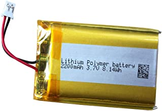 Cuh-zct1u Battery, LIP1922-B 3.7v 2200mAh for PS4 Controller Battery Replacement, Compatible with DualShock 4 Wireless Con...