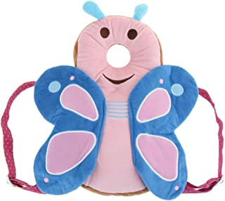 Prettyia Baby Kids Headguard Pad Toddler Head Back Care Soft Cushion - Butterfly, as described