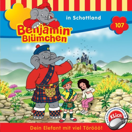 Benjamin in Schottland audiobook cover art