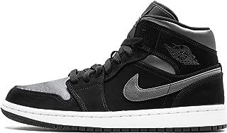 Jordan Nike Men's Air 1 MID SE Black/Grey 852542-012