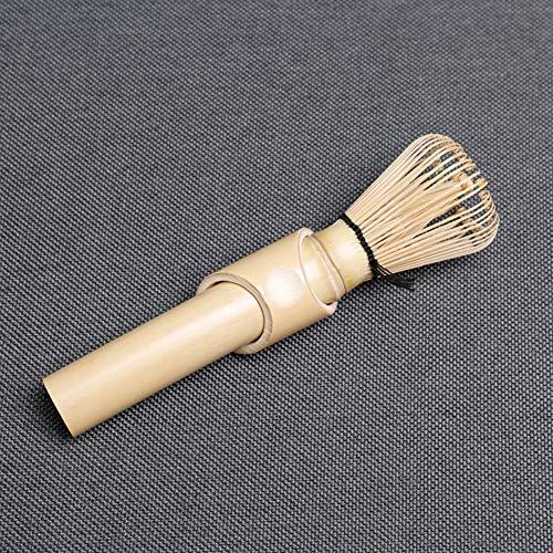 LCZ Matcha Grünteepulver Matcha Whisk Werkzeug Bambus Handgemachte Bambus Teebesen Bürstenwerkzeug Mit Tee Und Teepulver Brush