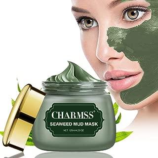 Algenmaske, Schlammmaske aus dem Toten Meer, Mitesser-Maske, Tiefenreinigungsmaske, Anti-Aging-Gesichtsbehandlung für alle Hauttypen, verjüngtes und feuchtigkeitsspendendes Gesicht und Körper. 120ml