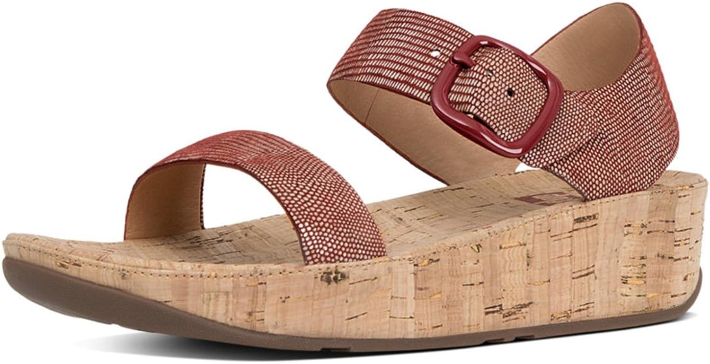 FittFlop FittFlop FittFlop kvinnor Bon Open Toe Casual Platform Sandaler  billigt i hög kvalitet