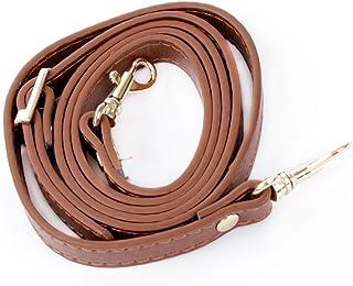 ماكس جودز حقيبة كتف بحزام قابل للتعديل من الجلد، حزام محفظة جلد بديل لحقائب كروسبودي حقيبة يد وأشرطة محفظة