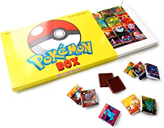 POKEMON BOX WITH CHOCOLATE! ☀ It's funny gift food will be a great holiday gift idea! (24 chocolate pieces Prime 2)