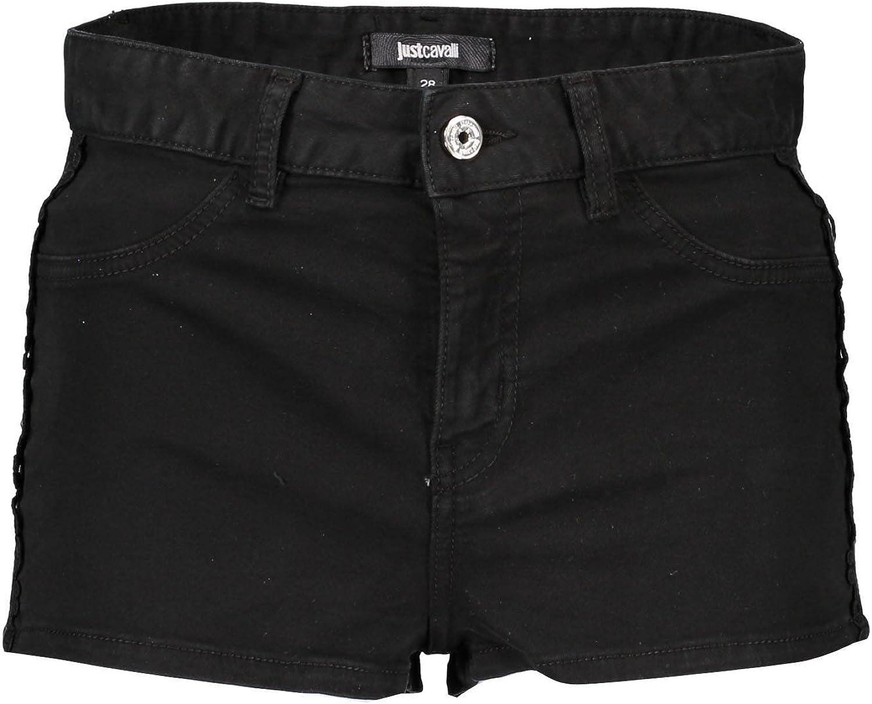 Just Cavalli S04MU0049 Short Trousers Women black 900 25