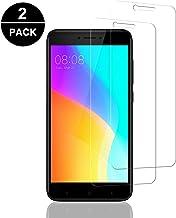 Aspiree 2 Unidades Vidrio Templado Xiaomi Redmi Note 4, Protector Pantalla Xiaomi Redmi Note 4 [Funda Compatible] Cristal Templado con [Anti-Huella/Anti-Burbujas] [Premium 9H Definición]