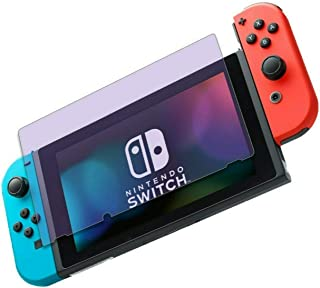 for Nintendo Switch (2017), Anti Blue Light [Eye Protection] Tempered Glass Screen Protector, ZenHoo