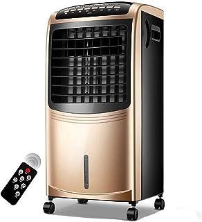 SMINNG Portatil Aire Acondicionado Frio Calor, Climatización Y Calefacción, Calefactor Mando A Distancia Purificador Temporizador 7h Y Tanque De Agua 6.5L Silenciosa para Casa U Oficina