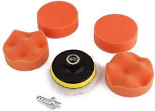 Electomania® 3 inch Drill Wool Cleaning Polishing Sponge Buffin 7pieces (Multicolor)