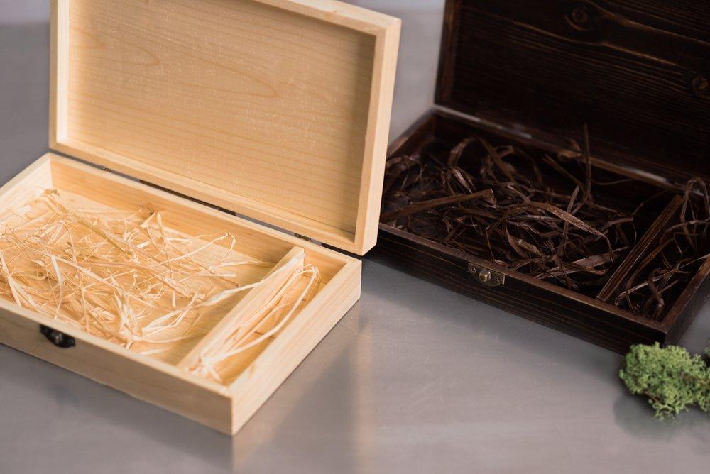 Solo Caja de Madera, Sin Dispositivo de Memoria Usb Memory Stick (Caja Oscura, Grande 16X26Cm): Amazon.es: Bricolaje y herramientas