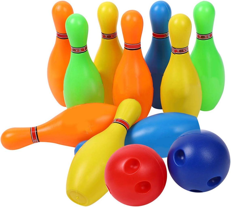 Haokaini Bowling Max 53% OFF Set for Kids Max 44% OFF Colorful Toy Ski Mini