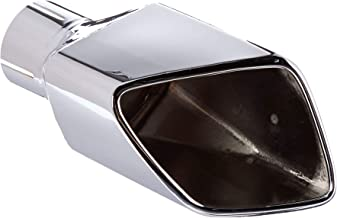 Roush 421158 Exhaust Tip (RH Square, Rear Exit, Polished Stainless Steel, Mustang)