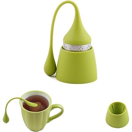 Gewürzfilter Heiß occasitop Teesieb mit Edelstahlgriff Meshkugel Tee-Ei