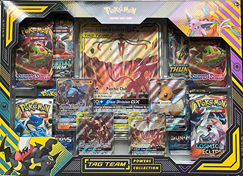 Pokemon TCG: TAG Team Powers Collection, Multi