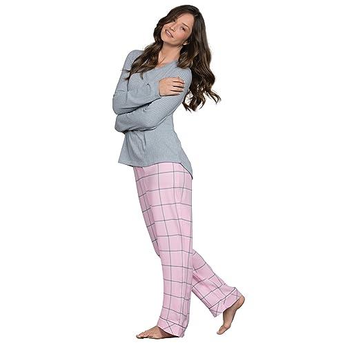 PajamaGram Womens Flannel Pajamas Sets - World s Softest Pajamas for Women 43ea8907e