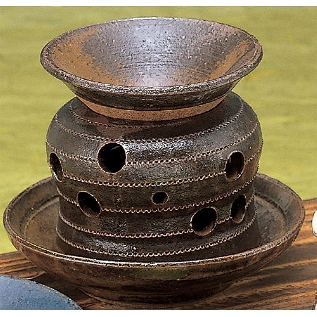 キャリア元の関係する香炉 灰流し 茶香炉 [R13xH10.5cm] プレゼント ギフト 和食器 かわいい インテリア