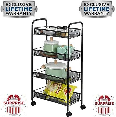 Amazon.com: Home Basics kt42195 Microondas de mueble de ...
