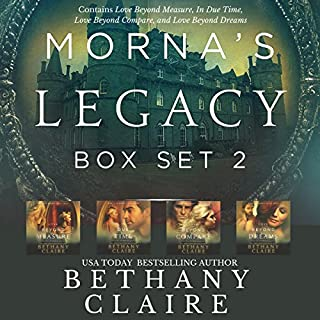 Morna's Legacy, Box Set #2     Scottish Time Travel Romances              By:                                                                                                                                 Bethany Claire                               Narrated by:                                                                                                                                 Lily Collingwood                      Length: 24 hrs and 7 mins     354 ratings     Overall 4.6