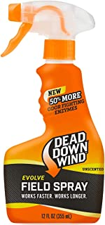 Dead Down Wind Evolve Field Spray – Unscented, Broad-Spectrum, Odor-Eliminating Hunting Spray