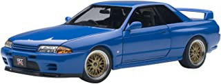 Nissan Skyline GT-R (R32) V-Spec II Tuned Version Blue Limited Edition to 1500pcs 1/18 by Autoart 77415