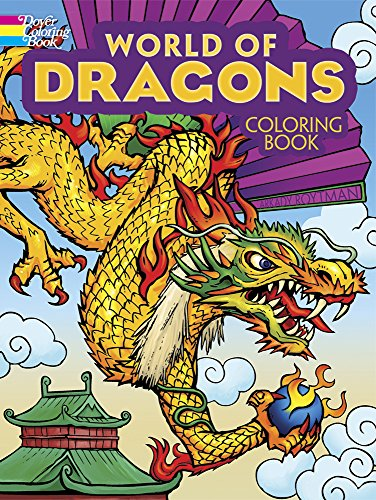 Product Image of the World of Dragons Coloring Book (Dover Coloring Books)