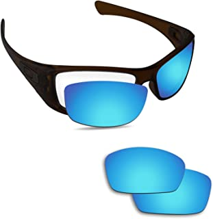 Fiskr Anti-saltwater Replacement Lenses for Oakley Hijinx Sunglasses - Various Colors