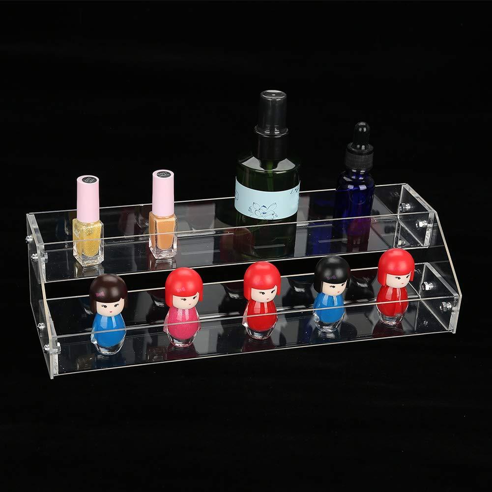 yuyte Cajas de Suministros para uñas, Estuche de cosméticos, Cajas de Accesorios para el Cabello, Caja de joyería de acrílico Transparente(2 Capa): Amazon.es: Hogar