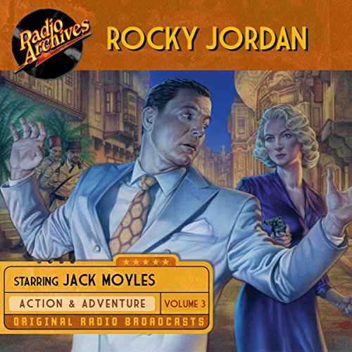 Rocky Jordan, Volume 3 audiobook cover art