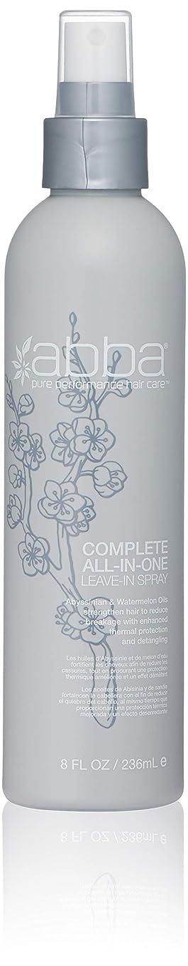 チャーム動機試すアバ Complete All-In-One Leave-In Spray 236ml/8oz並行輸入品