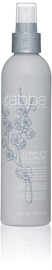 避けられないアスリート帰るアバ Complete All-In-One Leave-In Spray 236ml/8oz並行輸入品