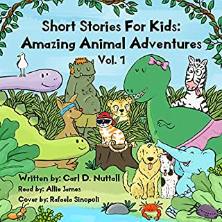 Short Stories for Kids - Amazing Animal Adventures (6 Exciting Mini Books for Children): Volume 1 cover art