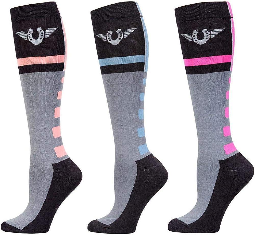 Free Shipping New TuffRider Impulsion Excellent Knee Hi Socks