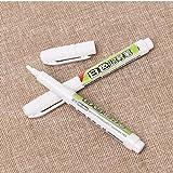 LAVALINK Marker Permanenti Bianco Olio di Indicatore 'Inchiostro della Penna di Testa Rotonda Vernice Forniture Pen Ufficio Scolastico Marker Pneumatici Penna